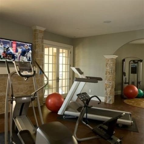 home gym decorations 58 well equipped home gym design ideas digsdigs