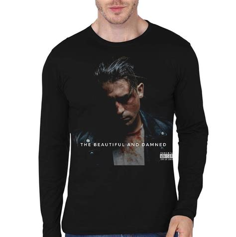 G Eazy T Shirt Size L g eazy the beautiful damned black sleeve t shirt swag shirts