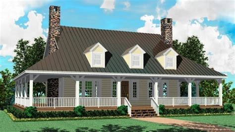 farm house plans one story one story farm house plans adding a porch to a one story