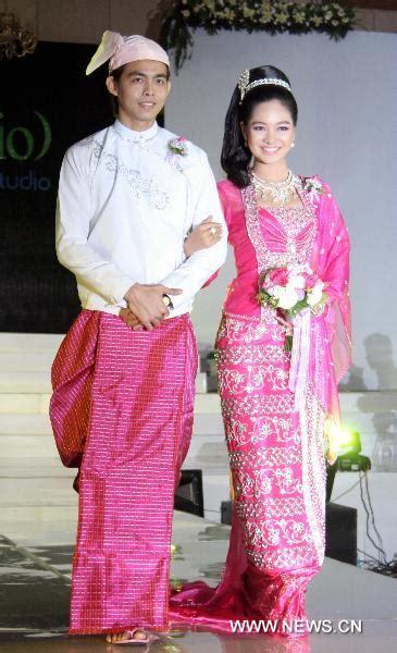 Wedding Dress Show in Yangon, Myanmar