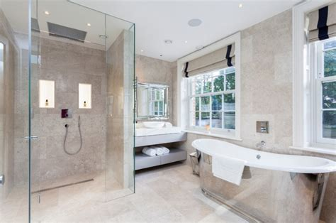 the right bathroom floor covering ideas your dream home 17 curbless shower designs ideas design trends