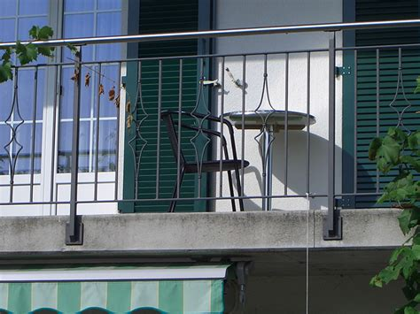 metall balkongeländer balkongel 228 nder metall portmann ch