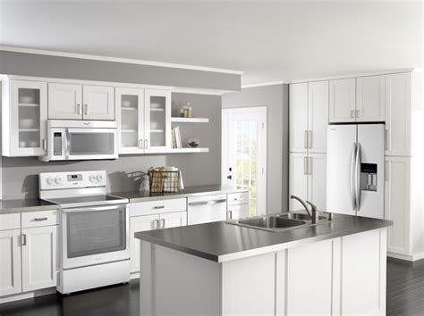 kitchen ideas white appliances homeofficedecoration kitchen cabinet ideas with white