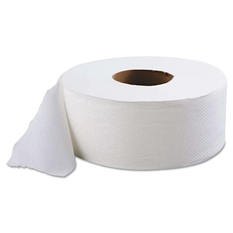 9 ply toilet paper jumbo roll toilet tissue paper 9in 2 ply case 12
