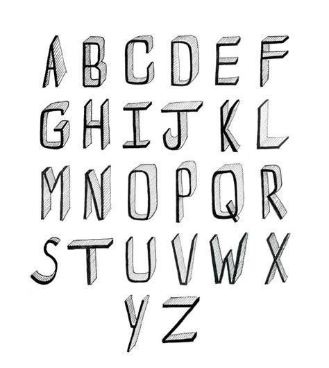 Drawing Fonts by Pics For Gt Cool Fonts To Draw By