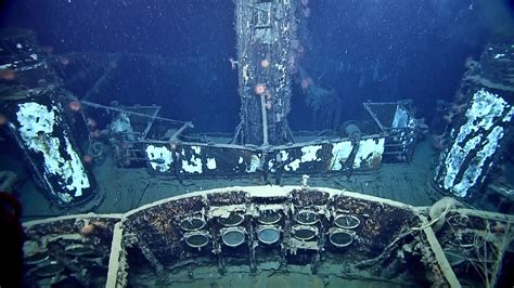 german u boat new orleans gulf camera reveals site of wwii sinking of ss robert e
