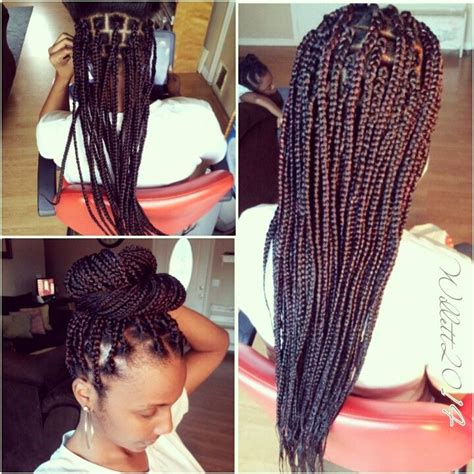 large braids styles big large box braids large box braids pinterest