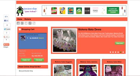 template toko online gratis untuk website free download template untuk toko online kabarinata