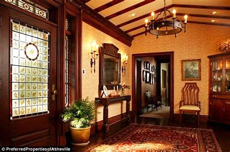 Arts And Crafts Style Homes Interior Design andie macdowell puts her north carolina tudor mansion on