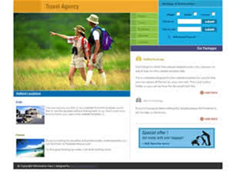 free css templates for online advertising agency free travel website templates 94 free css