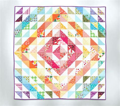 Triangle Quilt Ollibird 365 Patterns Triangle Quilt Half Square Triangle Quilts Co Nnect Me Triangulations Template Quilt Pattern