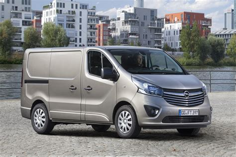 opel vivaro 2015 opel vivaro commercial van revealed gm authority