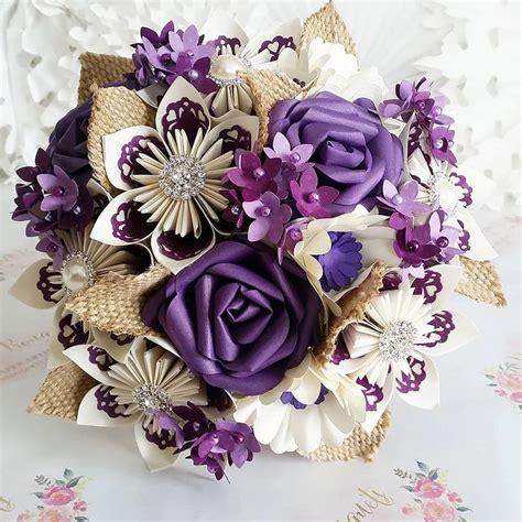 How To Make Paper Flower Wedding Bouquet - best 25 paper wedding bouquets ideas on paper