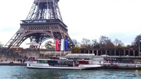 bateau mouche video bateau mouche paris france youtube