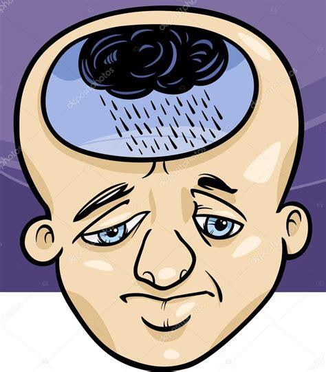 imagenes de tristeza caricaturas ilustraci 243 n de dibujos animados hombre triste concepto