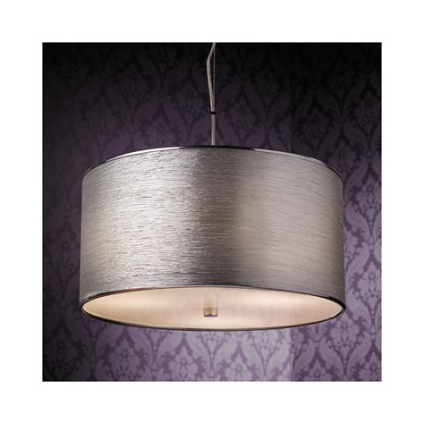endon lighting rebolo 3ch pendant ceiling light in chrome