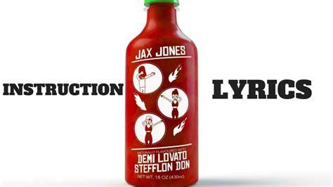 demi lovato stefflon don lyrics jax jones instruction lyrics ft demi lovato stefflon