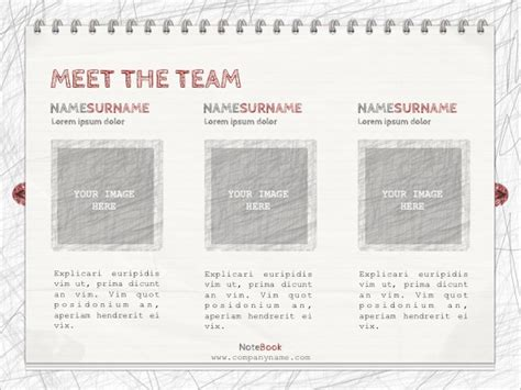 notebook html template notebook templates free word printable pdf format