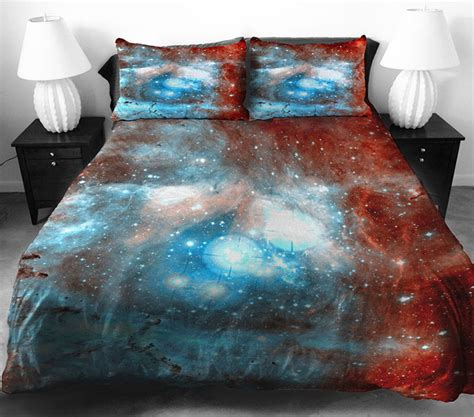 space bed sheets galaxy bedding sets that let you sleep among the stars