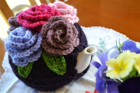 free pattern tea cosy crochet tea cozy free patterns for your teapot the whoot