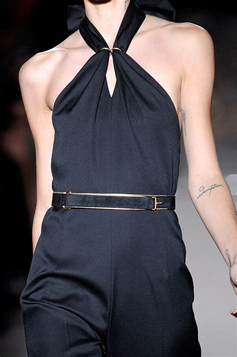 Who Wore The Ysl Jumpsuit Better by Yves Laurent Ysl Tat I And Ink