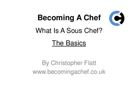 What Is A Sous Chef Description by What Is A Sous Chef A Description And Definition