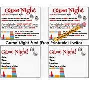 Game Night Invitations Party Invites MEMES