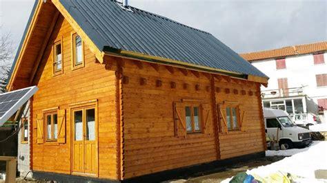Plans For Pergolas by Chalet Habitable De 42m2 Avec Mezzanine En Bois En Kit