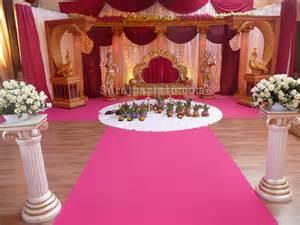decoration pour salle de mariage mariage indien decoration