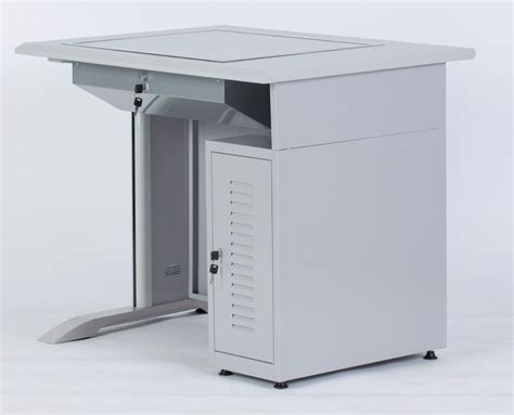 lockable computer desk computer desk with lockable flip up lcd holder and cpu