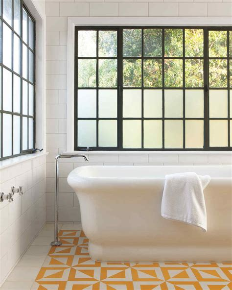 Color Wash Walls - our favorite bathrooms martha stewart
