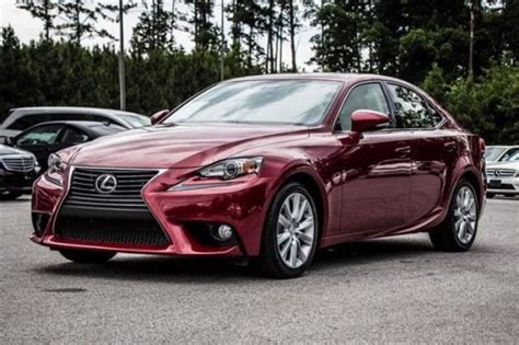 red lexus is 250 2016 red is250base palm beach lease deals lmg auto brokers