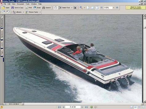 formula 2 race boats for sale formula sr 1 boat for sale from usa