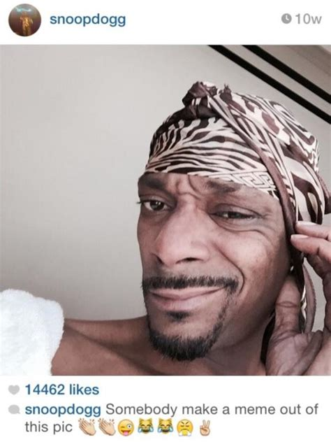 Snoop Dogg Meme - make a meme out of this snoop dogg s selfie quot memes