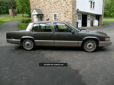 1993 cadillac sedan 1993 cadillac base sedan 4 door 4 9l