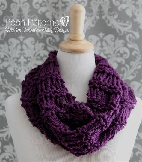 easy infinity scarf knitting pattern knitting patterns easy cowl knitting pattern infinity