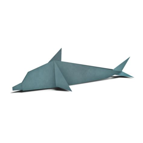 How To Make Paper Dolphin - origami patterns pages wwf