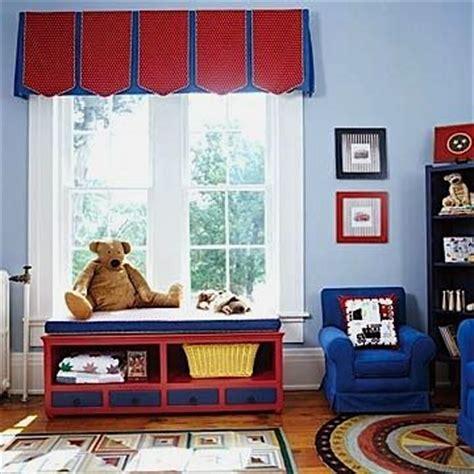 Valance For Boys Room pleated valance for boys bedroom ideas house window treatments w