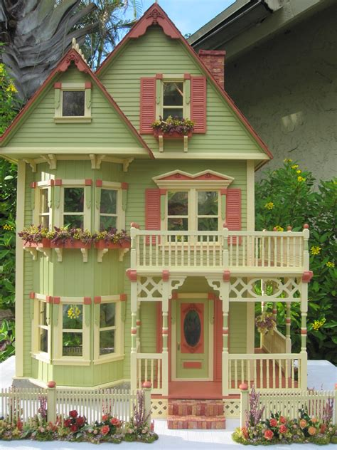 Franciscan Interiors Dollhouses By Robin Carey New Gothic Victorian Dollhouse