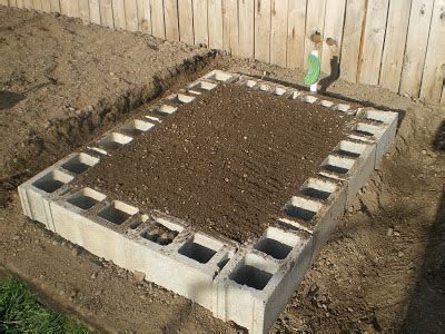 Cinder Block Raised Bed by Building A Cinder Block Raised Garden Bed P R E P P E R