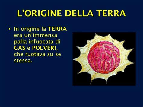 l universo e la vita scienze della terra 1 dall origine dell universo alla comparsa dell uomo