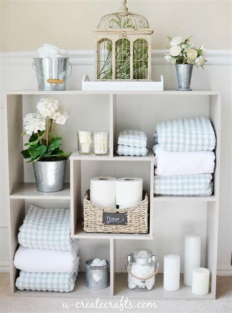 Sauder Bathroom Shelves   U Create