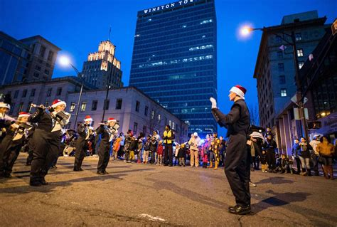 best lights near winston salem the 26th annual winston salem jaycees downtown parade and tree lighting galleries