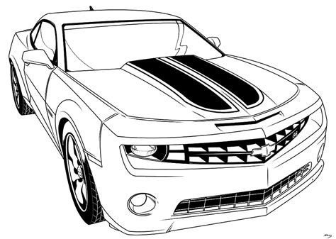 camero coloring pages coloring home