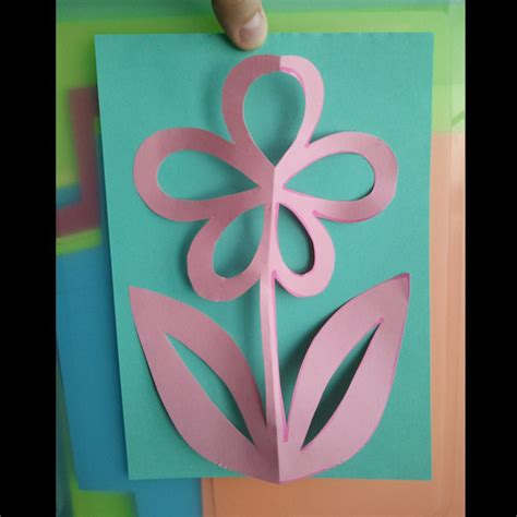 pattern kirigami flower kirigami flower 183 how to make a cut out card 183 papercraft