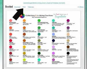 frosting colors 1000 ideas about color mixing chart on color