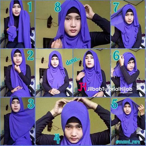 tutorial jilbab pashmina menutupi dada tutorial model hijab menutupi bagian dada jilbab