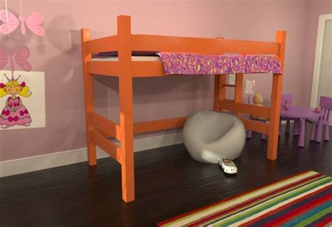 Bunk Bed Configurations Sustainably Crafted Maine Bunk Beds Come In Many Configurations A Rainbow Of Colors Maine Bunk