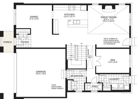 massey floor plan the massey richardson ridge model homes developments
