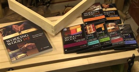 woodworking dvd series grain review paul sellers working wood dvd and